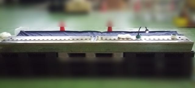 マットロールの傷修理