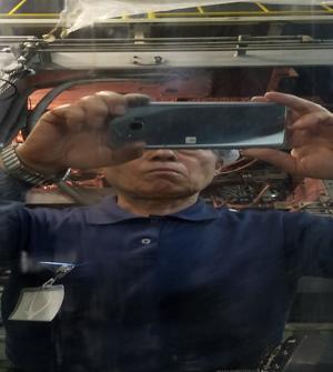樹脂フィルム・シート(鏡面)ロール修理