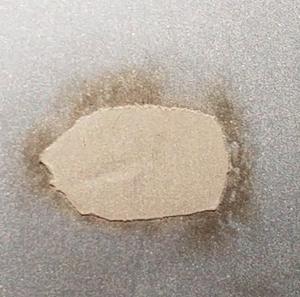 ラミネートフィルム冷却マットロール傷修理例